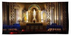 The Miraculous Medal Shrine Bath Towel