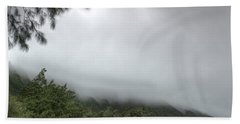 The Mist On The Mountain Hand Towel