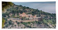 The Monastery Of Archangel Michael, Thasos, Greece Bath Towel by Jivko Nakev