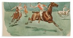 The Month Of June  Polo Hand Towel