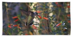The Morning Whisper Hand Towel by Living Color Photography Lorraine Lynch