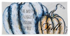 The Most Snuggly Season Of All Hand Towel