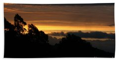 The Mountain At Sunrise Hand Towel
