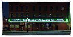 Hand Towel featuring the photograph The Murphy Elevator Company by Randy Scherkenbach