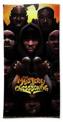 The Mystery Of Chessboxing Bath Towel