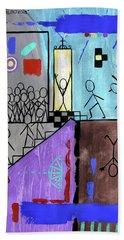 The Narrow Door Matthew 7-13-14 Bath Towel