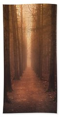 The Narrow Path Bath Towel by Rob Blair