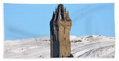 The National Wallace Monument Hand Towel by RKAB Works
