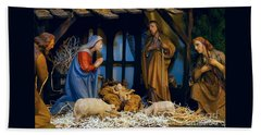 The Nativity Bath Towel