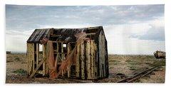 The Net Shack, Dungeness Beach Bath Towel
