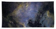 The North America Nebula Hand Towel
