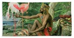 The Nubian Hand Towel