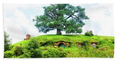 The Oak Tree At Bag End Hand Towel