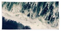The Ocean Roars Hand Towel