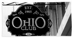 The Ohio Club In Hot Springs, Arkansas Hand Towel