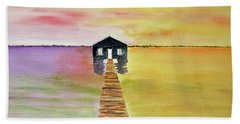 The Old Boat Shed Hand Towel