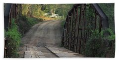The Old Country Bridge Hand Towel by Kim Henderson