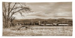 The Old Farm 1 Hand Towel by Ansel Price