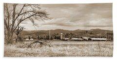 The Old Farm 1 Bath Towel by Ansel Price