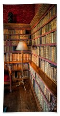 Bath Towel featuring the photograph The Old Library by Adrian Evans