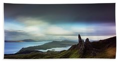 The Old Man Of Storr Bath Towel
