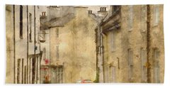 The Old Part Of Town Bath Towel by LemonArt Photography