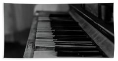 The Old Piano Hand Towel