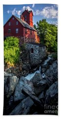 The Old Red Mill Bath Towel