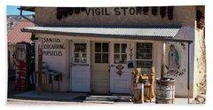 Old Vigil Store In Chimayo Bath Towel