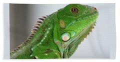 The Omnivorous Lizard Bath Towel