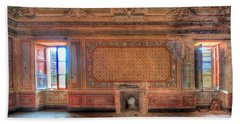 The Orange Room Of The Villa With The Colored Rooms Bath Towel