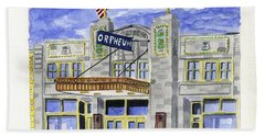 The Orpheum Bath Towel