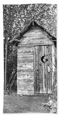 The Outhouse Bw Hand Towel