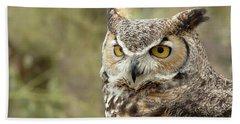 The Owl Bath Towel
