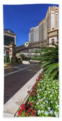 Bath Towel featuring the photograph The Palazzo Casino Side View by Aloha Art