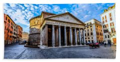 The Pantheon Rome Bath Towel