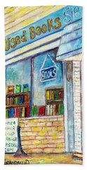 The Paperbacks Plus Book Store St Paul Minnesota Bath Towel