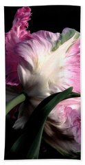 The Parrot Tulip Queen Of Spring Bath Towel