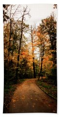 The Path Hand Towel by Annette Berglund