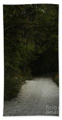 The Path In The Darkness Bath Towel