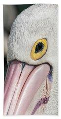 The Pelican Look Hand Towel by Werner Padarin
