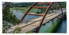 The Pennybacker Bridge Bath Towel