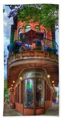 The Pickle Barrel Chattanooga Tn Hand Towel by Reid Callaway