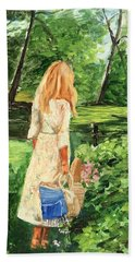 The Picnic Hand Towel