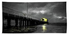 The Pier On The Bay Hand Towel