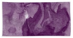 The Place I Belong- Abstract Art By Linda Woods Bath Towel