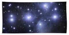 The Pleiades Bath Towel