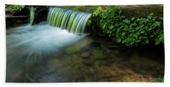 The Poetry Of Nature Bath Towel by Sue Cullumber