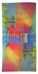 Bath Towel featuring the digital art The Power Of Colour by Tara Turner