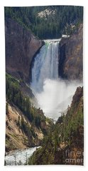 The Power Of Yellowstone Bath Towel
